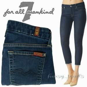 7 for All Mankind jean Kimmie crop skinny ink 7FAM